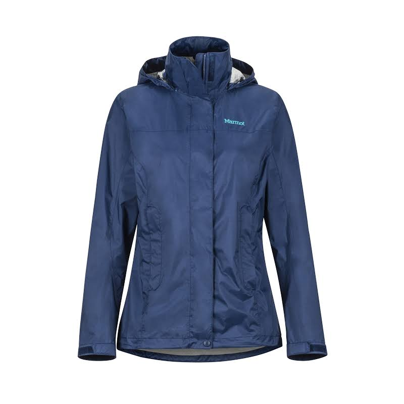 Marmot PreCip Eco Jacket-Small Arctic Navy