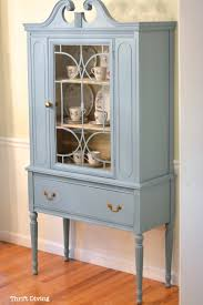 before u0026 after my thrifted china cabinet makeover