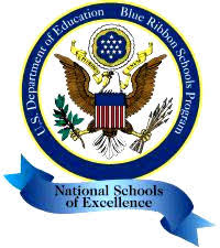 US Department of Education symbol for Blue Ribbon Schools Program National School of Excellence