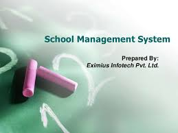 School admission process management system  Documention