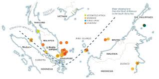 Bangkok Location In World Map by Pirates In Southeast Asia The World U0027s Most Dangerous Waters