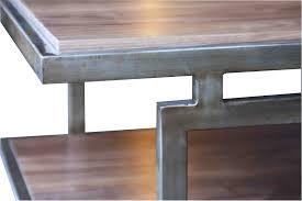 modern wood and glass coffee table furniture extraordinary wood metal coffee table design ideas