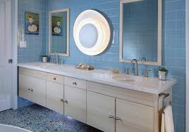 Coastal Bathroom Decor Sea Glass Luminary Shower Favors With Beaded Handle Set Of 3 Beach