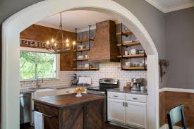 Upper Kitchen Cabinet Ideas Before And After Kitchen Photos From Hgtv U0027s Fixer Upper Hgtv U0027s