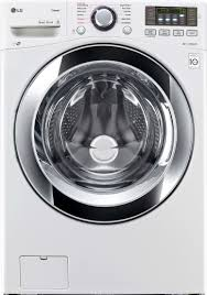 lg wm3670hwa 27 inch 4 5 cu ft front load washer with steam