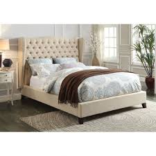Bedroom Furniture Espresso Finish Faye Bed Multiple Colors Sizes By Acme Furniture 20900q Acme