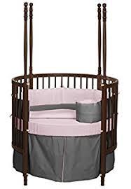 amazon com baby doll bedding round crib bedding set blue