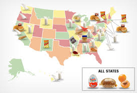 Map Of Wisconsin And Illinois by Map Banned Foods By State Business Insider