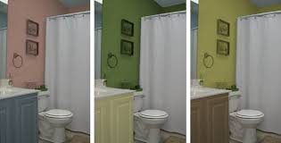 plain two toned bathroom paint ideas tone color pictures for