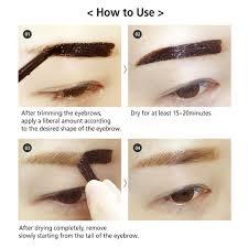 amazon com reddy long lasting tattoo eyebrow pack 10g peel