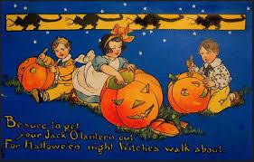 sirius reflections happy halloween vintage halloween postcards