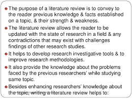 RRL ppt Course of literature research and study design  n  number of included papers  aAlthough    full text articles were included in this review  only    studies