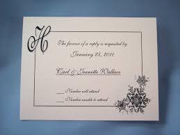 Invite Cards Wedding Invitations With Postcard Response Cards Festival Tech Com