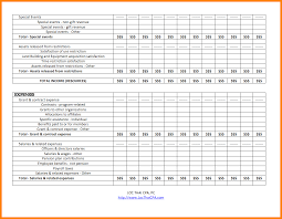 Sample Home Budget Spreadsheet 9 Non Profit Budget Template Budget Template