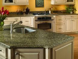 Kitchen Cabinet Wood Types Granite Countertop Kitchen Cabinets Wood Choices Grey Brick