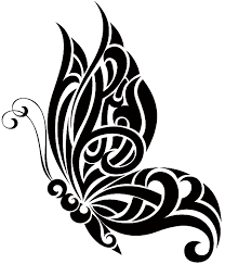 Tribal Butterfly Tattoo Designs-20