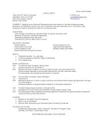 Resume Samples Of Software Engineer by Protection And Controls Engineer Sample Resume 6 Bunch Ideas Of