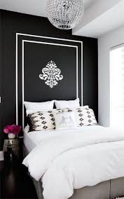 bedroom beautiful black and white damask bedroom decorating