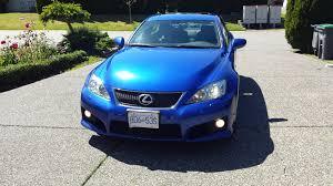 lexus vancouver hours can vancouver 2009 lexus is f ultrasonic blue 53k clublexus