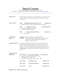 Sample Undergraduate Resume Medical Billing Objective For Resume