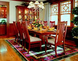 arts and crafts inspired dining room using bob timberlake