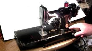 antique 1934 singer 221 featherweight sewing machine ad788604