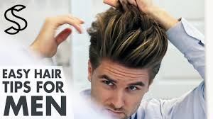 Mens Hairstyles For Business Professionals by Men U0027s Hairstyling Tips 5 Min Hair Guide Men U0027s Look Youtube