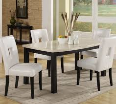 Five Piece Dining Room Sets Homelegance Archstone 5 Piece 60 Inch Dining Room Set W White