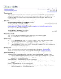 Example Objectives For Resumes by Motion Control Engineer Sample Resume 19 Job Objectives Mechanical