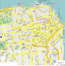 San Francisco Bart Map San Francisco Gif