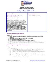 about me essay examples   Template