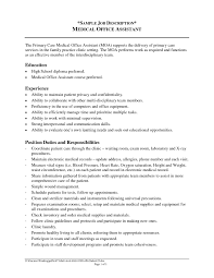Resume Definition Medical Assistant Responsibilities Resume Definition In French