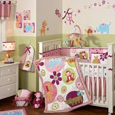 Monkey Crib Set Baby Nursery Cute Baby Room Decorations Interior Nursery Design