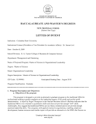 Letter Of Intent Word Template  contract layouts  microsoft word     Letter Of Intent Template California State University Write A Letter Within Cover Letter Format Spacing
