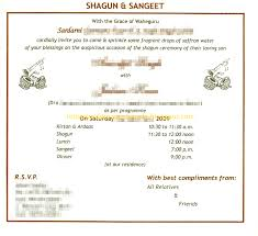 English Invitation Card Indian Wedding Card Wordings In Text Format