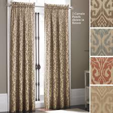 bathroom fancy ideas for drapes design plus gray scroll