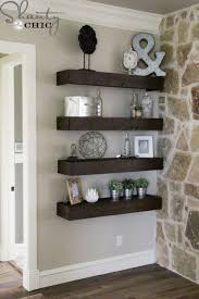 Do It Yourself Bathroom Ideas Colors Diy Floating Shelves For My Living Room Shelves Room And Living