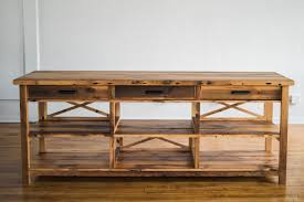 buy hand made cortland cross reclaimed wood kitchen island