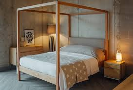 Tall Canopy Bed by Introducing The Highland 4 Poster Bed Blog Natural Bed Company
