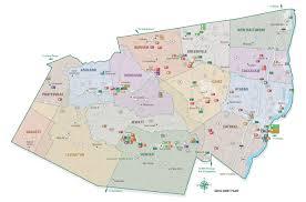 Ny County Map City Park U0026 Street Map Illustration U0026 Design