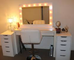 Vanity Bedroom Makeup White Bedroom Makeup Vanity With Lights Decorate Bedroom Makeup