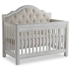 Vintage White Baby Crib by Pali Cristallo Forever 4 In 1 Convertible Crib In Vintage White