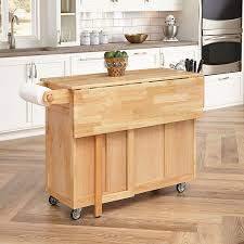 amazon com home styles 5023 95 wood top kitchen cart with