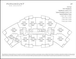 Vista Del Sol Floor Plans by Paramount Miami Worldcenter Everything Miami Team