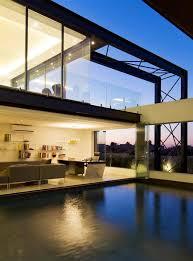 Sleek Glass Walls