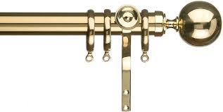 solid brass curtain pole 10481