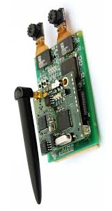 WiCa wireless camera board with Xetal chip Seeing with Sound