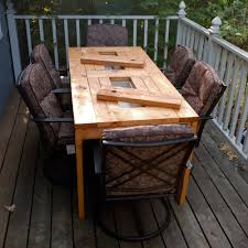 Best Wood Patio Furniture - amazing homemade outdoor furniture all home decorations