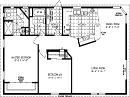 5 Bedroom Mobile Home Floor Plans 11 1600 To 1799 Sq Ft Manufactured Home Floor Plans Square Foot 1