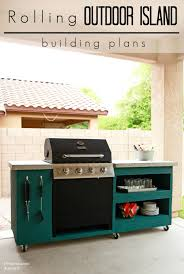diy rolling outdoor kitchen building plans this is exactly what